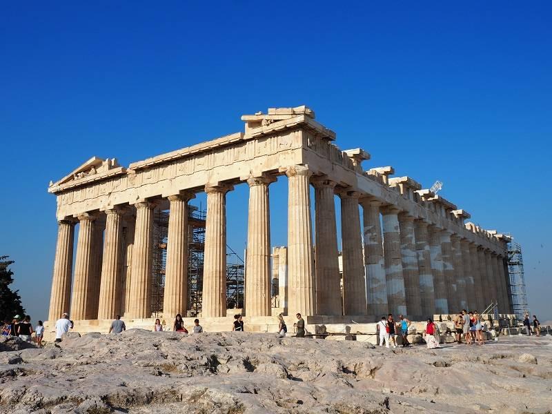 Acropolis atenas grecia