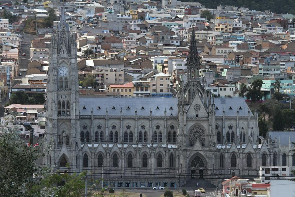 Quito-Basilica