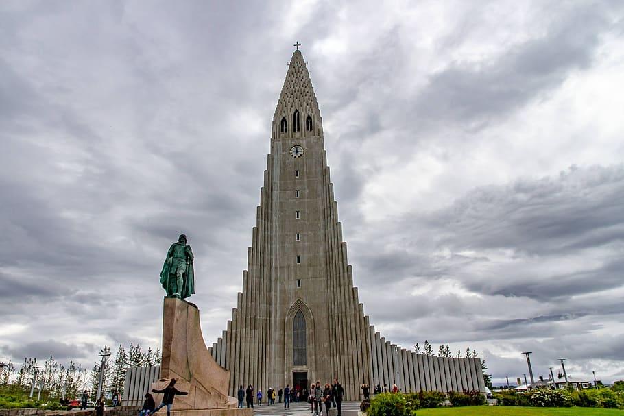 Reykjavik-monumento