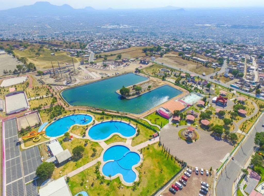 Chimalhuacán ciudad panoramica mexico