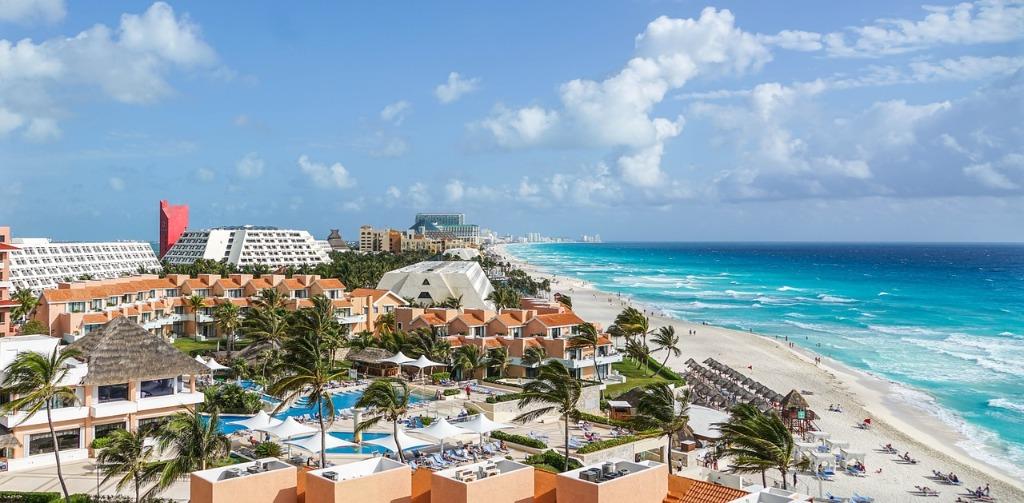 cancun mexico playas sol verano vacaciones donde hospedarse