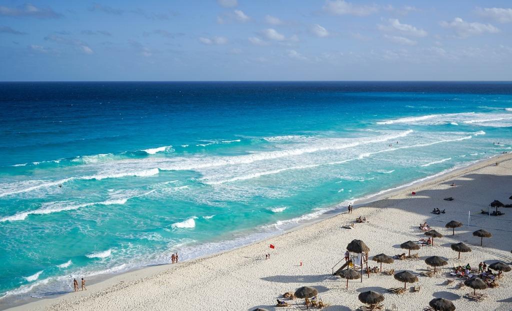 cancun mexico playa ciudad vacaciones