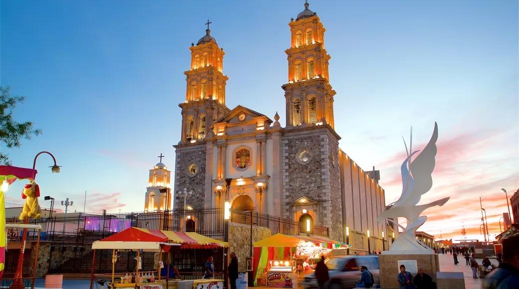 chihuahua ciudad mexico catedral casco historico