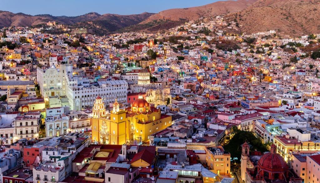 celaya ciudad panoramica turismo mexico