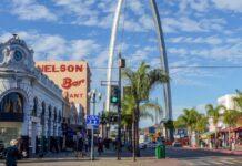 Tijuana baja california mexico frontera estados unidos