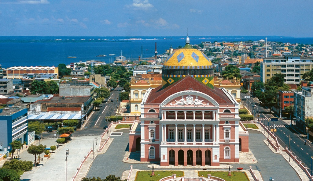 Manaos manaus ciudad brasil